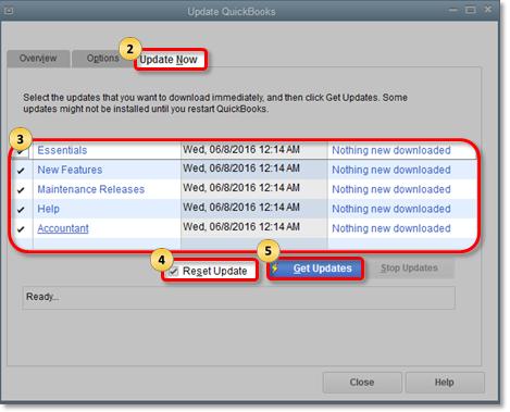 Update QuickBooks to fix Quickbooks error 15221
