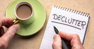 Declutter creative ways to save money