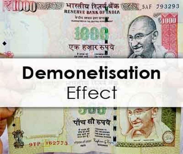 Impact of India's Demonetization